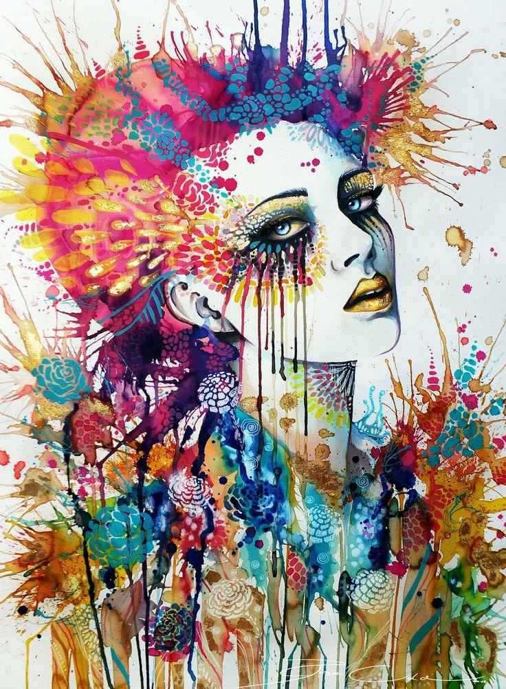 Flora by PixieCold.deviantart.com     Art Prints start at $21.99