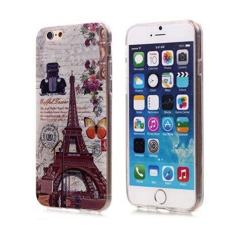 Coques / Protections iPhone 6 (4.7 pouces) - Coque de protection TPU design tour eiffel pour iphone 6 - 4.7 pouces - nemtytab.com 3,20 EUR