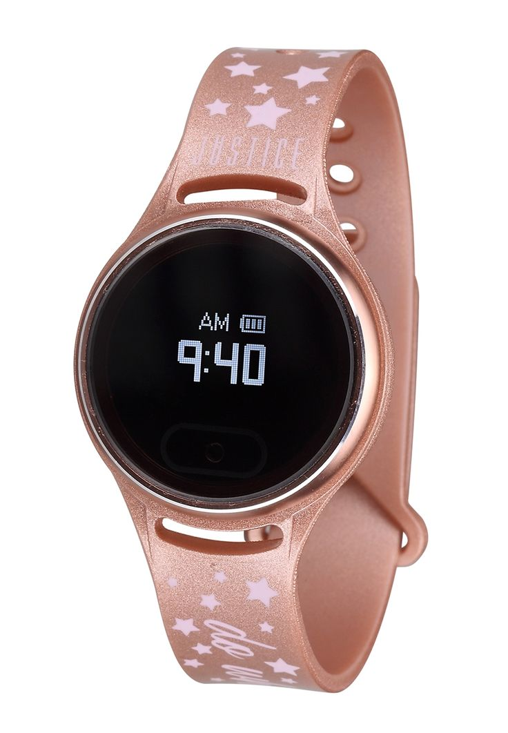 Metallic Touch Screen Activity Tracker (original price, $39.50) available at #Justice