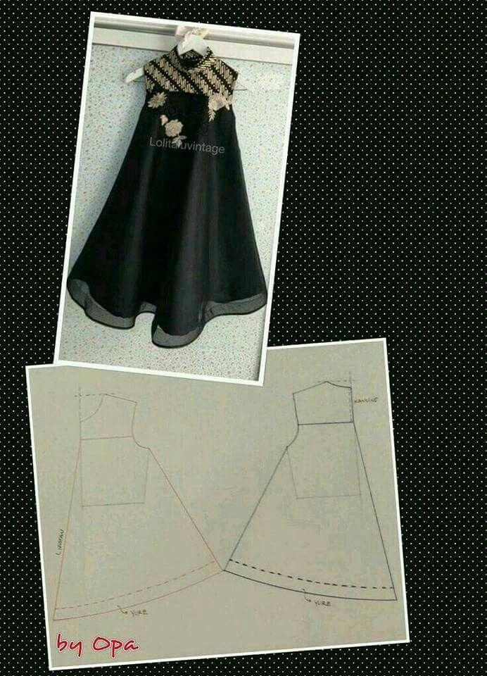 Cara Membuat Pola Batik : membuat, batik, Membuat, Perempuan, [UNTUK, PEMULA], YouTube, CraftIdea.org, Dress, Patterns,, Dress,, Sewing, Patterns