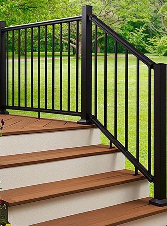 NEW Fiberon Elements® Aluminum Railing has a sleek, minimalist