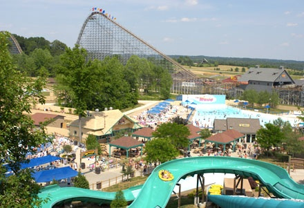 Holiday World in Santa Clause, IN  Love, love, love this water park!