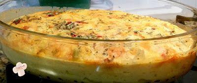 Cozinhando sem Glúten: Torta integral com legumes