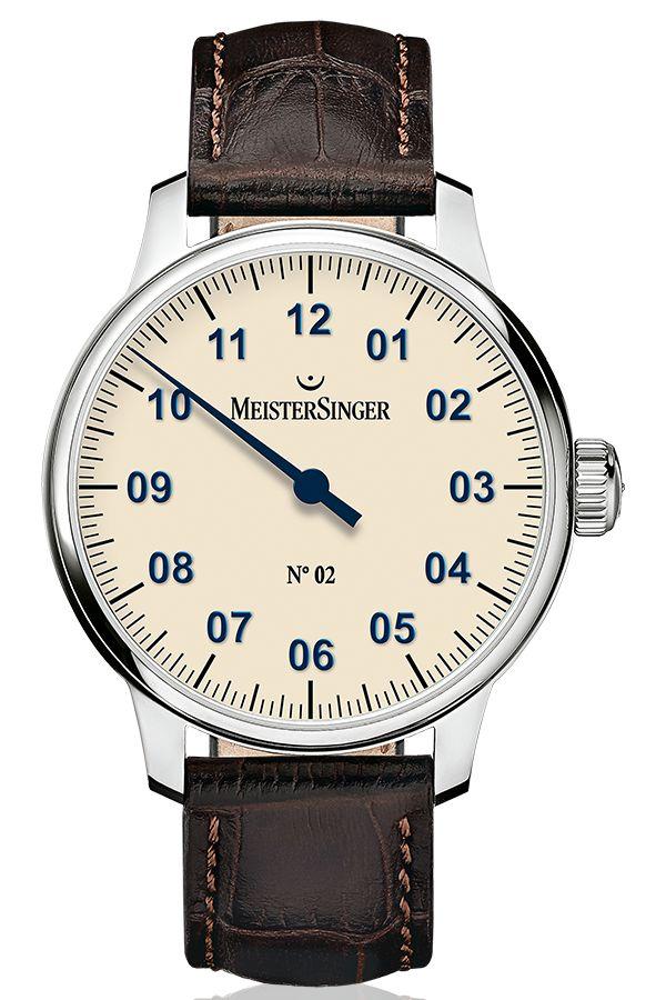 MeisterSinger - N02- Single-Hand Watches Models - MeisterSinger