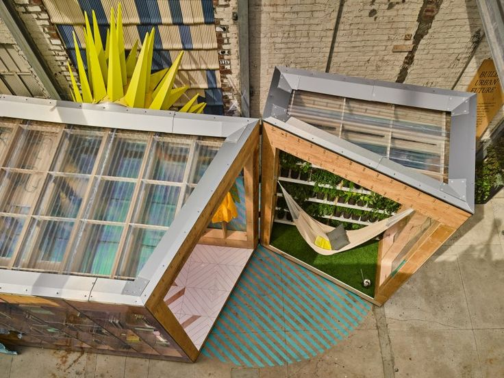 "Bureau V's MINI Living Urban Cabin ""starts conversation about immigration"""