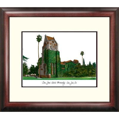 Campus Images Alumnus Lithograph Framed Photographic Print NCAA Team: San Jose State Spartans