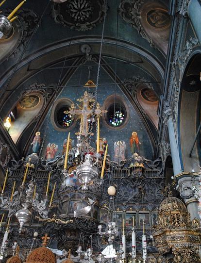 church of evaggelistria, tinos, greece