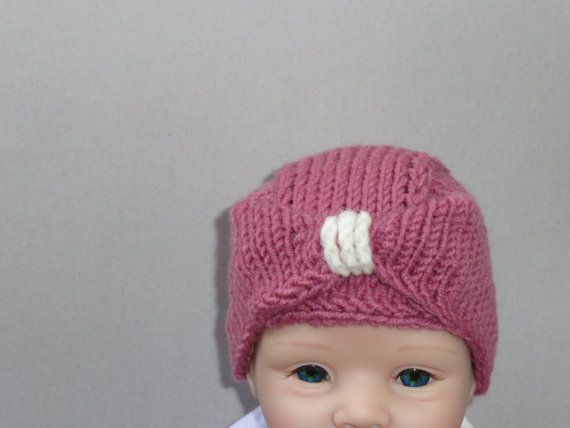 Newborn HatBaby HatBeautiful Hat.Unique Hat. by knitsdwarfs, $20.00