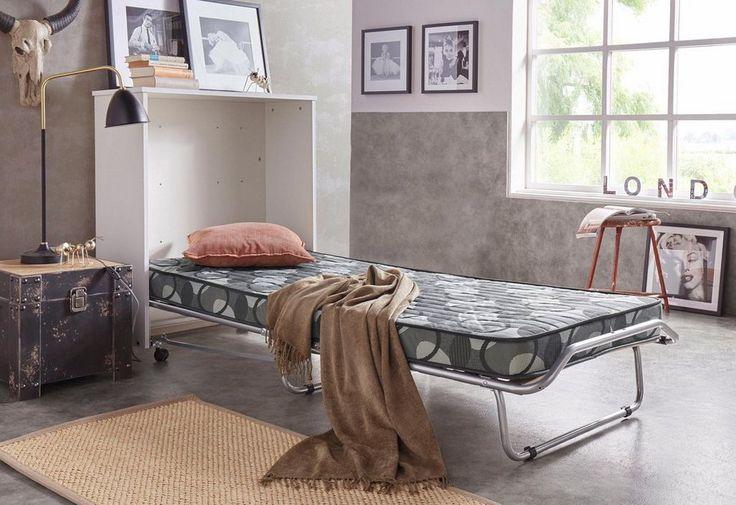 Schrankbett in Kommodenoptik, Liegefläche 80×185 cm