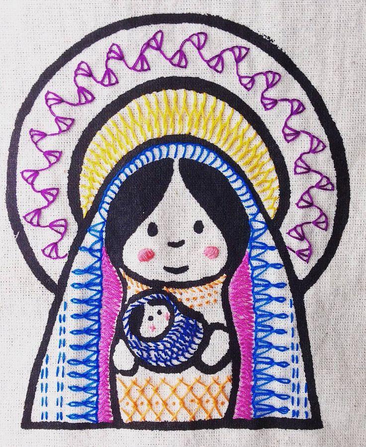 #Mariita #bordada #bordadoamao #bordadoamano #embroidered #embroidery…