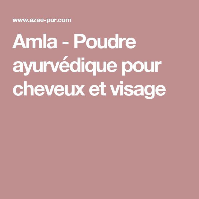 Amla - Poudre ayurvédique pour cheveux et visage