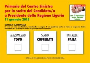 Primarie Liguria: quando, come e dove si vota