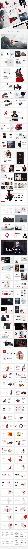 Xstore Minimal Powerpoint Template - Creative PowerPoint Templates