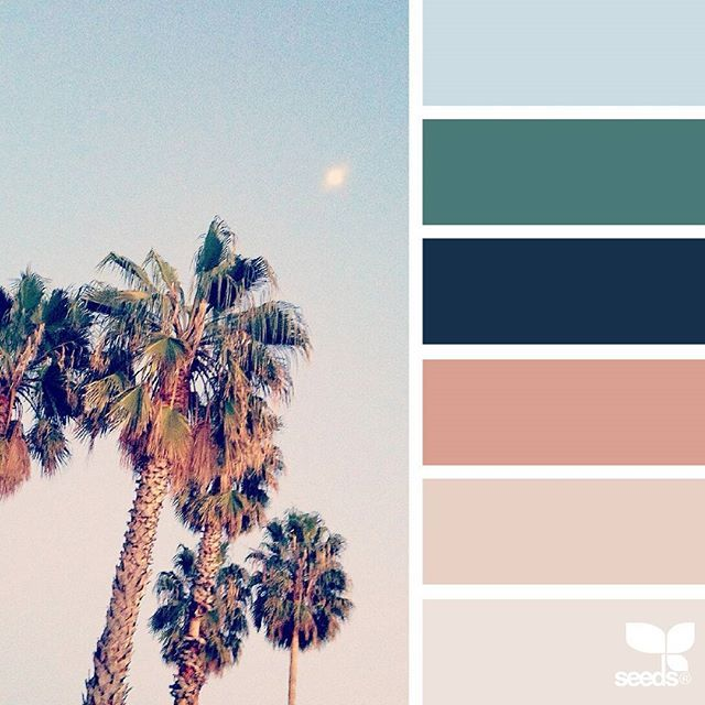 today's inspiration image for { summer hues } is by @orangiepink ... thank you, Oryana, for another fresh + inspiring #SeedsColor image share!