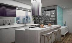 Cucina moderna di Diseñadora de Interiores Citlali Villarreal