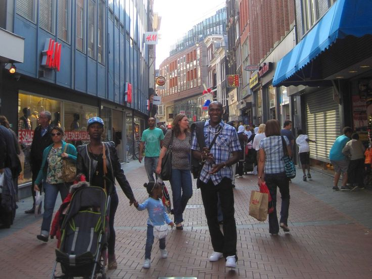 Amsterdam is super walkable. Is your city walkable? Check walkscore.com to find out!