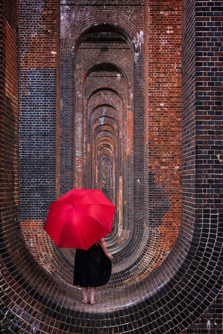 Nine million and counting  by David Asch Taken at the Ouse Valley railway viaduct at Balcombe, East Sussex. The structure comprises 11 million bricks.