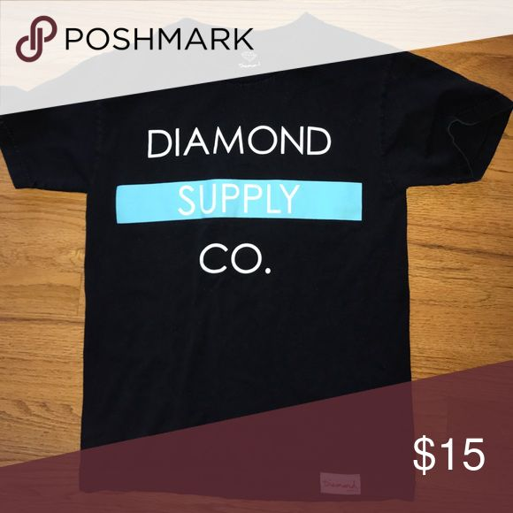 Diamond supply company tshirt Slightly worn but still soft and nice Diamond Supply Co. Shirts Tees - Short Sleeve