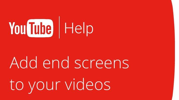 Добавляйте конечные заставки к вашим видео