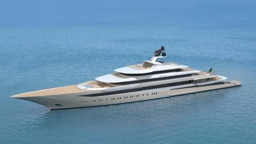 Private Bay Is A 123 m Superyacht Concept Designed By Horacio Bozzo