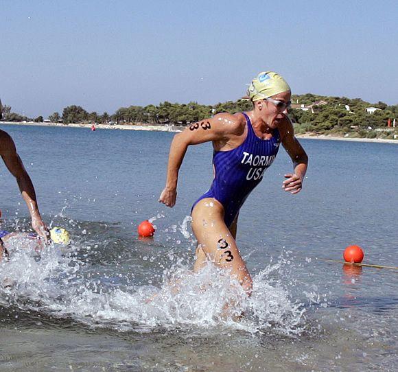 Sheila Taorminia  First woman to qualify in 3 distinct sports  Swimming, triathlon, and modern pentathlon