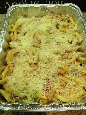 Pasta Rustica with Three Cheese Pasta and Chicken Sausage...from At Home with the Waldreps