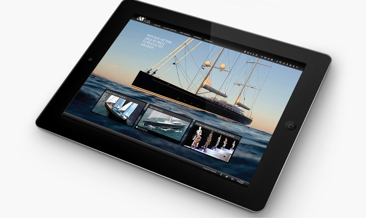 Alloy Yachts Website Design by Onfire Design