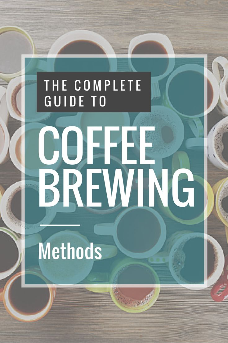 19 Coffee Brewing Methods You Need To Know About (#16 is Ground Breaking!)