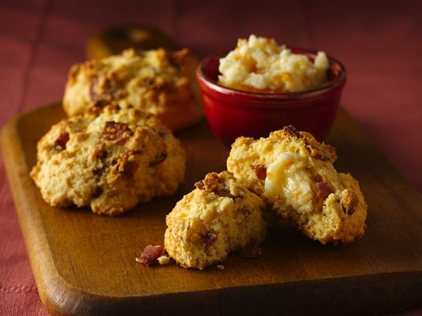 Bacon Biscuits with Orange-Honey Butter | Recipe