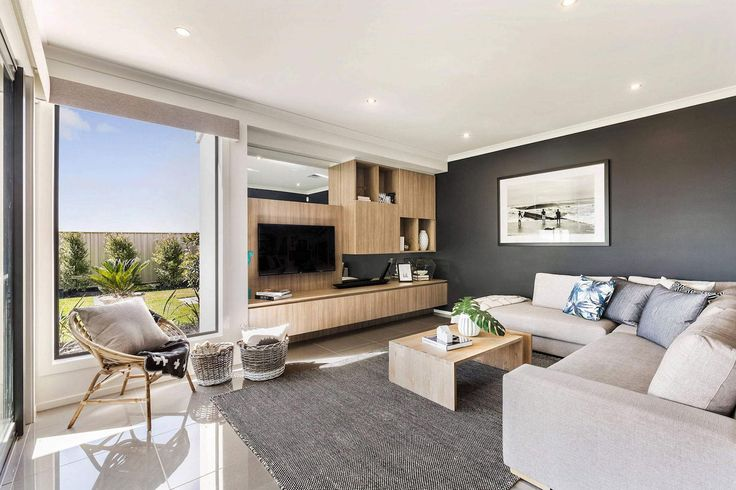 The Botanica Home with a large open plan living area designed by Metricon - CAANdesign