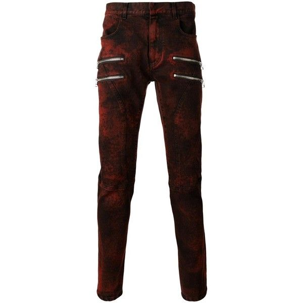 Faith Connexion Men's Red Cotton Jeans (3.390 BRL) ❤ liked on Polyvore featuring men's fashion, men's clothing, men's jeans, red, mens cotton jeans, mens red jeans and mens jeans