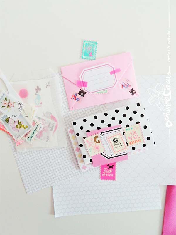 envelopes - masking tapes - stationery