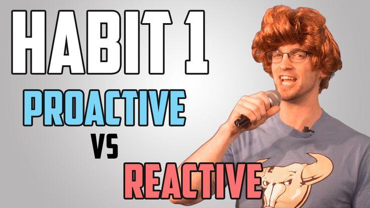 Harns Marsh Counselor's Corner- Habit 1 Be Proactive vs Reactive