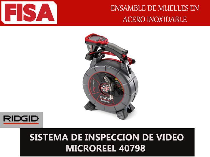 SISTEMAS DE INSPACCIÓN DE VIDEO MICROREEL 40798. Ensamble de muelles en acero inoxidable- FERRETERIA INDUSTRIAL -FISA S.A.S Carrera 25 # 17 - 64 Teléfono: 201 05 55 www.fisa.com.co/ Twitter:@FISA_Colombia Facebook: Ferreteria Industrial FISA Colombia
