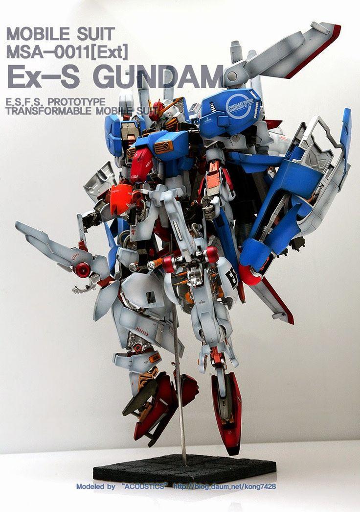 Custom Build: MG 1/100 Ex-S Gundam Open Hatch Presentation - Gundam Kits Collection News and Reviews