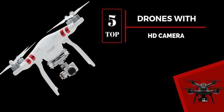 Top 5 Drones with HD Cameras: Best of Best in 2017  http://quadfront.com/drones-with-hd-cameras/  #DronesHDCameras #DronesHDCameras2017