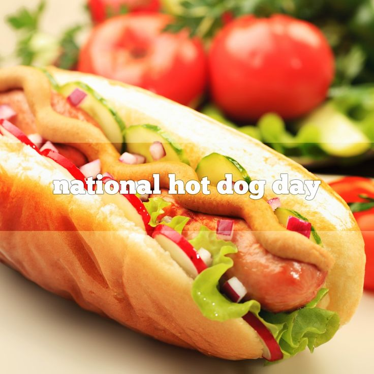 September 10 is National Hot Dog Day. Celebrated on this date since 1978. Hot Dog Day is about celebrating the regional ways people like their Hot Dogs.