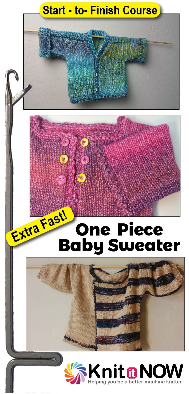 22 best One Piece Machine Knit Baby Sweater Inspiration images on ...
