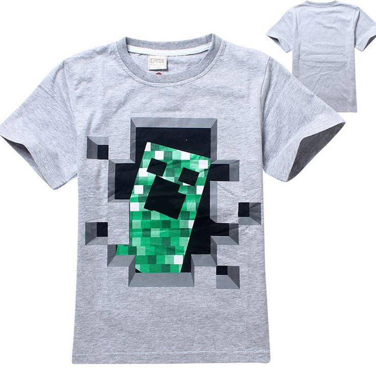 Freddy's Fazbear Pizza Minecraft Jurassic Park Childrens Kids Clothing tee t-shirt