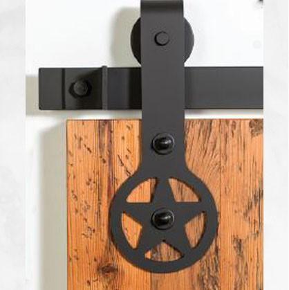 Barn Door Tracks   Designer Series: Black Ranger Barn Door Track U0026 Hardware
