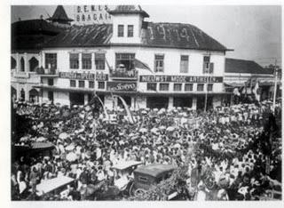 past photo of alun alun bandung