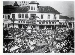 past photo of alun alun bandung