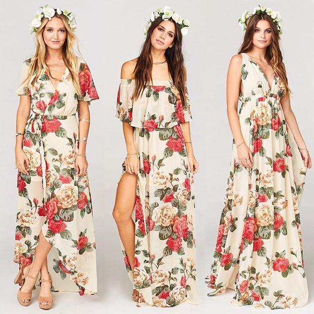 Lady Rose Bridesmaid Dresses #mumuweddings