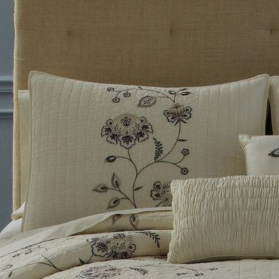 Nostalgia Home Flowering Vine Standard Sham & Reviews | Wayfair.ca