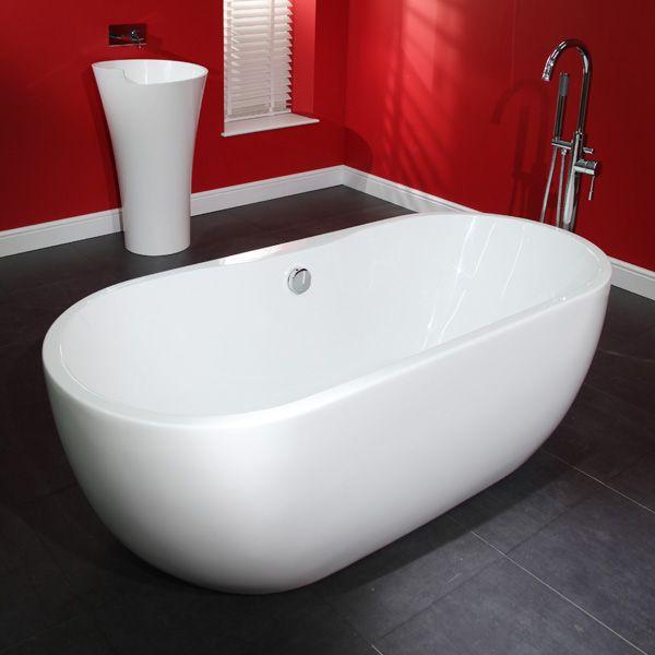 Lisbon 1650 X 750 Luxury Freestanding Bath 498 95 Betterbathrooms Com
