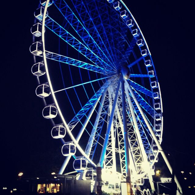 Brisbane Eye Ferris Wheel - Brisbane Australia