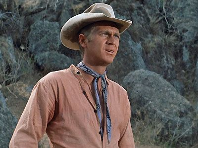 The Magnificent Seven - Steve McQueen as Vin the gunfighter