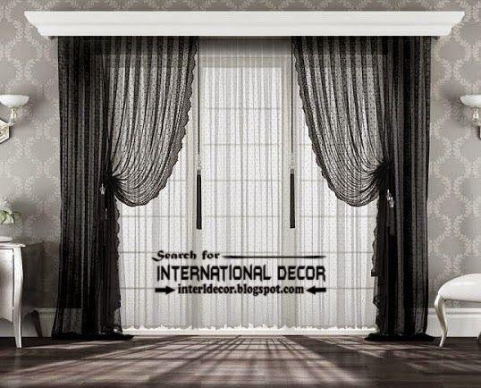 34 best curtain ideas images on Pinterest | Window dressings ...
