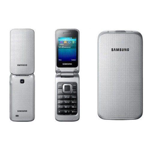 Sale Preis: Samsung GT-C3520 Klapphandy (5,6 cm (2,2 Zoll) Display, 1,3 Megapixel Kamera) metallic-silver [EU-Import]. Gutscheine & Coole Geschenke für Frauen, Männer & Freunde. Kaufen auf http://coolegeschenkideen.de/samsung-gt-c3520-klapphandy-56-cm-22-zoll-display-13-megapixel-kamera-metallic-silver-eu-import  #Geschenke #Weihnachtsgeschenke #Geschenkideen #Geburtstagsgeschenk #Amazon