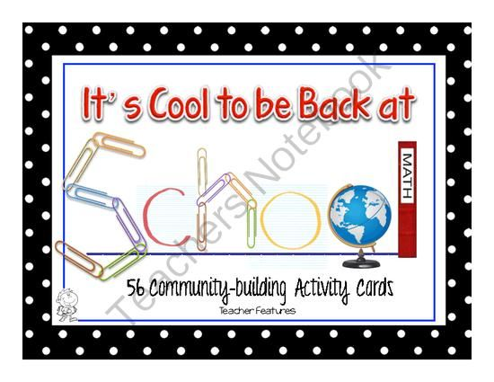building community in the classroom pdf